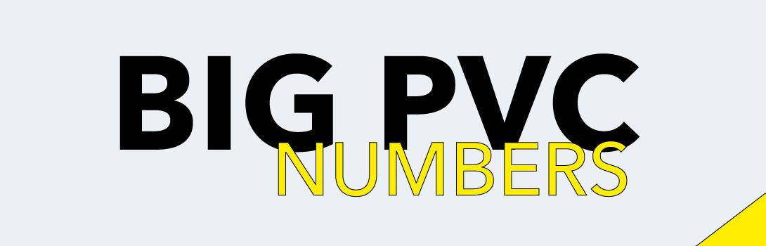 Numbers PVC big