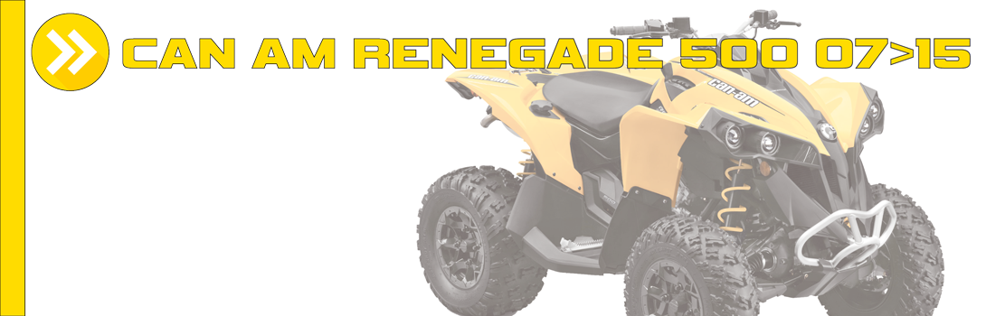 CAN AM RENEGADE 500 07>15