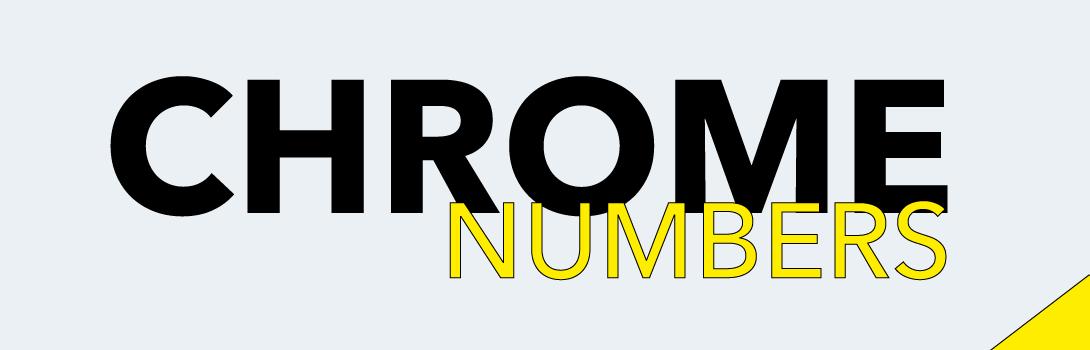 Numbers Chrome