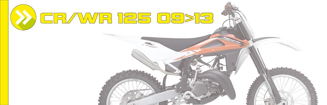 CR/WR 125 09>13
