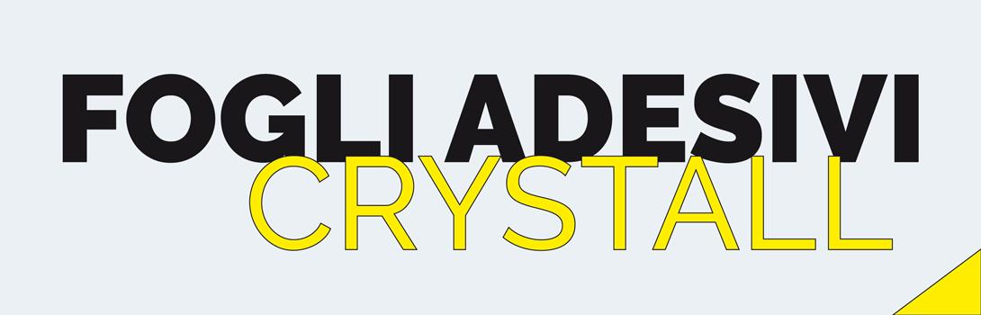 Fogli adesivi crystall