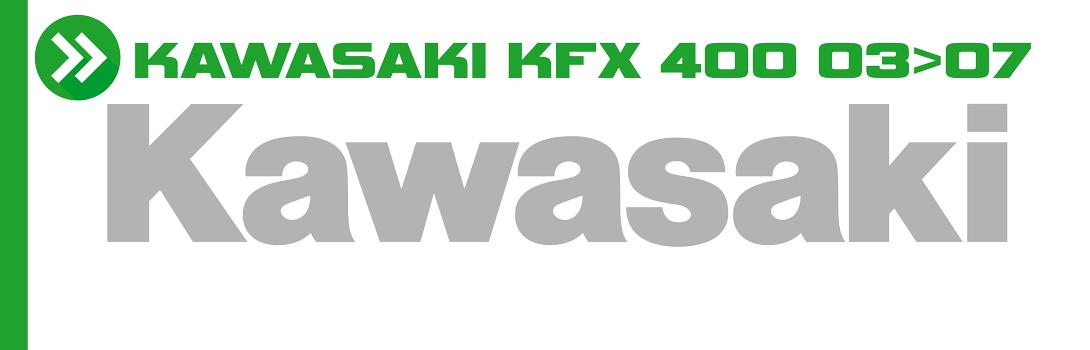 KAWASAKI KFX 400 03>07