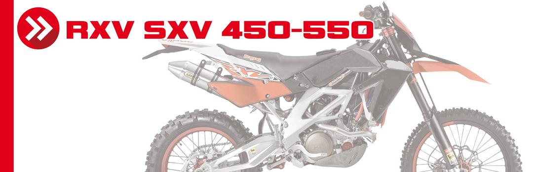 RXV/SXV 450-550 06>12