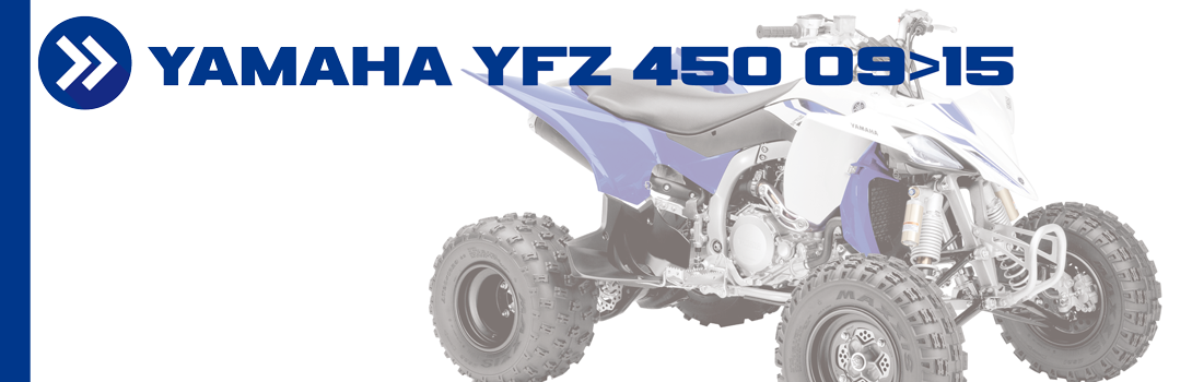 YAMAHA YFZ 450 09>15
