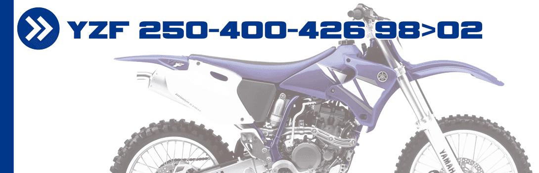 YZF 250-400-426 98>02