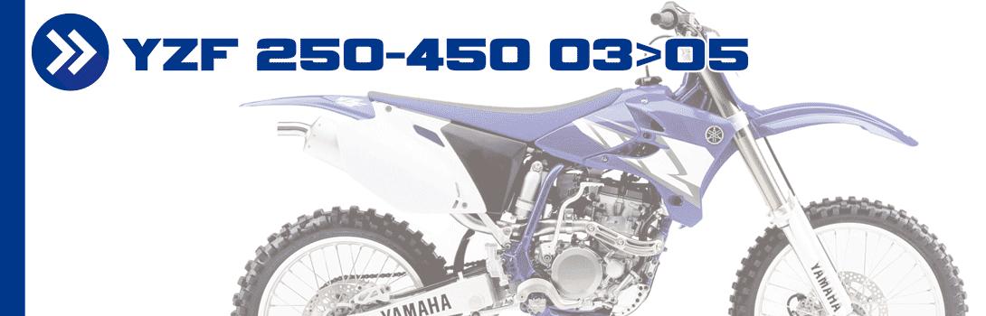 YZF 250-450 03>05