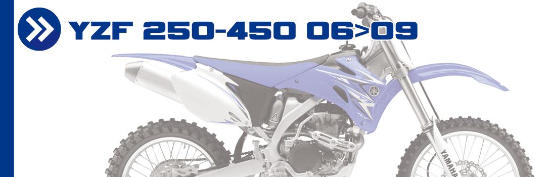 YZF 250-450 06>09
