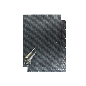 Kit Fogli 3pz - Liscio Carbonio Forato