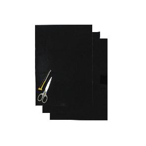 Kit Fogli 3pz - Crystall Liscio Nero