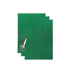 Kit Fogli 3pz - Crystall Liscio Verde