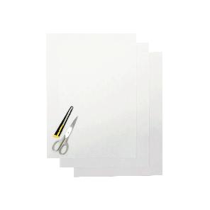 Kit Fogli 3pz - Crystall Liscio Trasparente