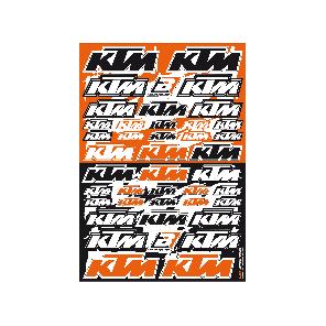 Kit adesivi loghi sponsor KTM KTM