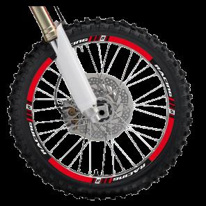 Kit Adesivi Cerchi 2014 - Rosso