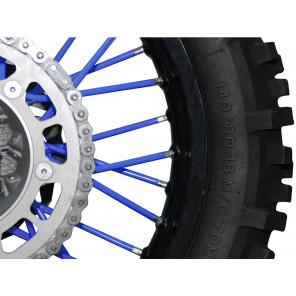 Kit rivestimento raggi ruota - Blu