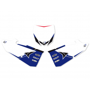 Kit Adesivi Portanumero Grafica Dream 4 YAMAHA