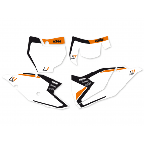 Kit Adesivi Portanumero Grafica Dream 4 KTM