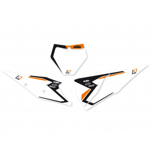 Kit Adesivi Portanumero Grafica Dream 4 KTM