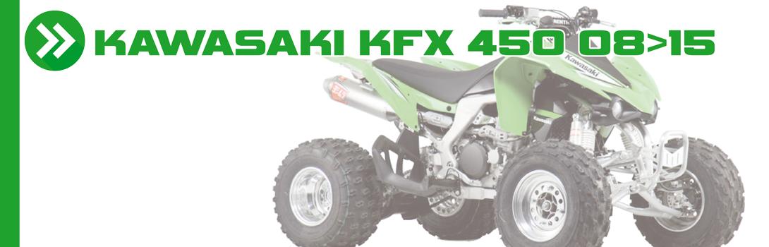 KAWASAKI KFX 450 08>15