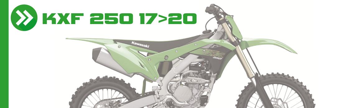 KXF 250 17>20