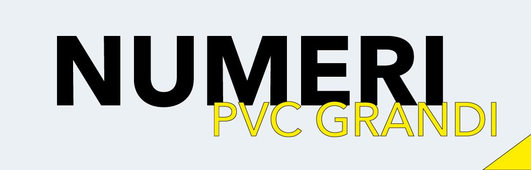 Numeri PVC grandi