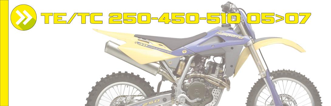 TE/TC 250-450-510 05>07