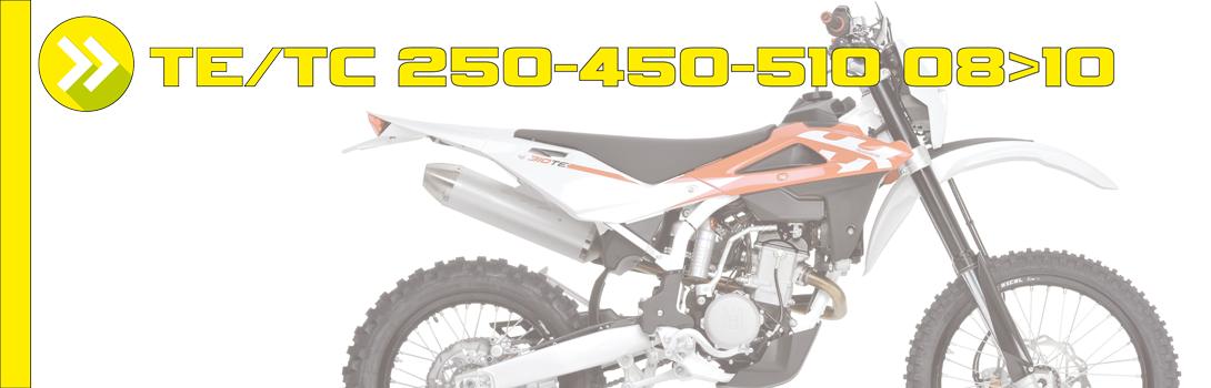 TE/TC 250-450-510 08>10
