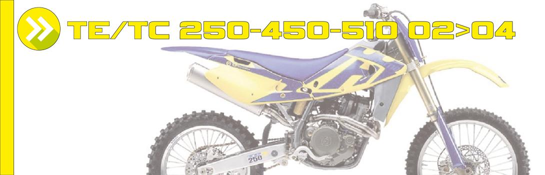 TE/TC 250-450 02>04