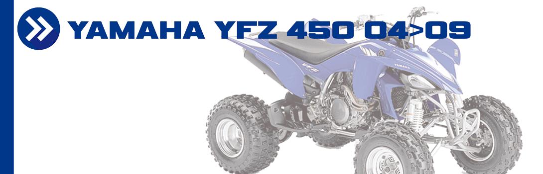 YAMAHA YFZ 450 04>09