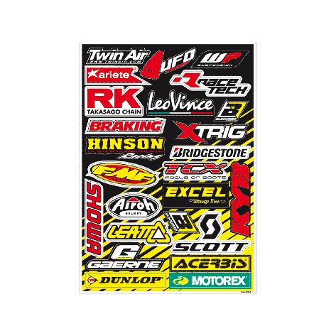 Kit adesivi loghi sponsor - A