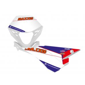 Kit Adesivi Portanumero Personalizzato modello Replica BETA Factory 2020