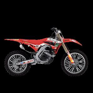 Kit Adesivi Completi di tabelle Portanumero Replica  Red Moto Assomotor 2020