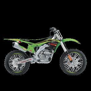 Kit Adesivi Completi di tabelle Portanumero replica Kawasaki F&H 2020
