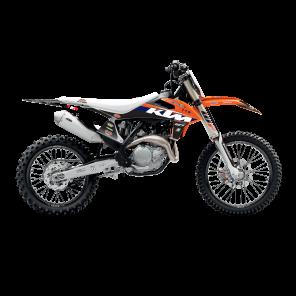 Kit Adesivi Completi di tabelle Portanumero replica KTM Racestore MX2 2020