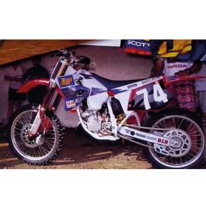 Copertina Sella Replica Team Honda Maddii 1995 Honda