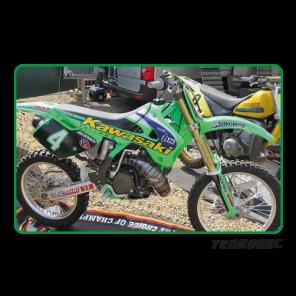 Kit Adesivi Replica Team Kawasaki 1998 KAWASAKI