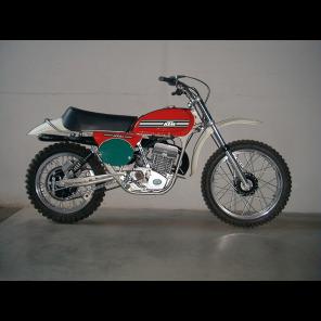 Kit Adesivi Replica OEM KTM GS 74-76 base bianco KTM