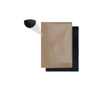 Kit Fogli 3pz - Protuberanze Trasparente