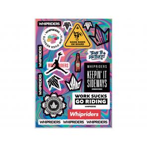 Kit adesivi loghi Whip Riders