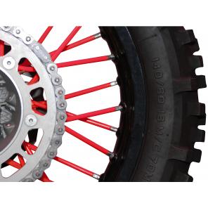 Kit rivestimento raggi ruota - Rosso