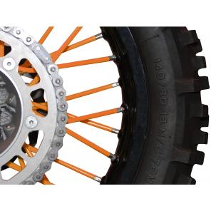 Kit rivestimento raggi ruota - Arancio