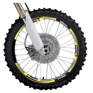 Kit Adesivi Cerchi 2020 - Giallo Fluo