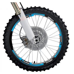 Kit Adesivi Cerchi 2020 - Azzurro Fluo