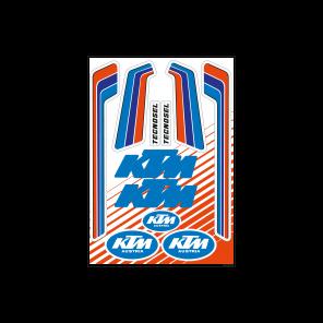 Kit Adesivi Loghi Vintage KTM